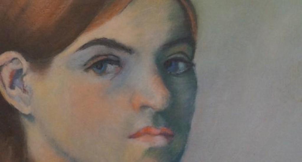 Suzanne Valadon Self-Portrait, 1883 @ WikipediaCommons