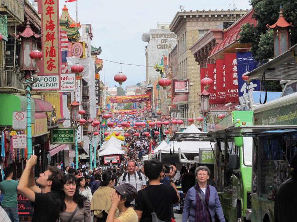 San Francisco Chinatown   © Gary Stevens/Flickr