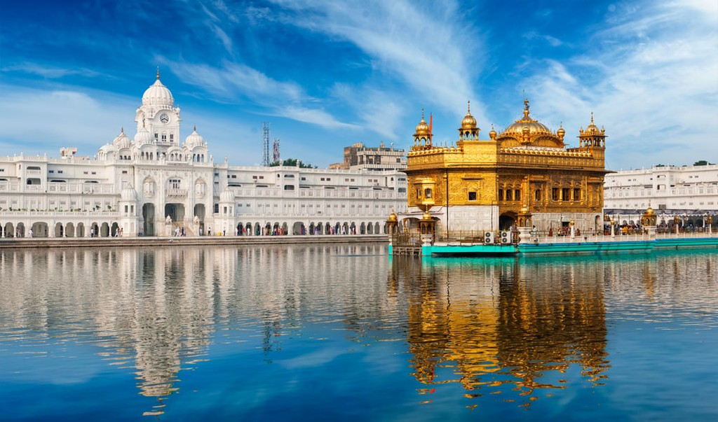 Golden Temple in Amritsar, Punjab, India