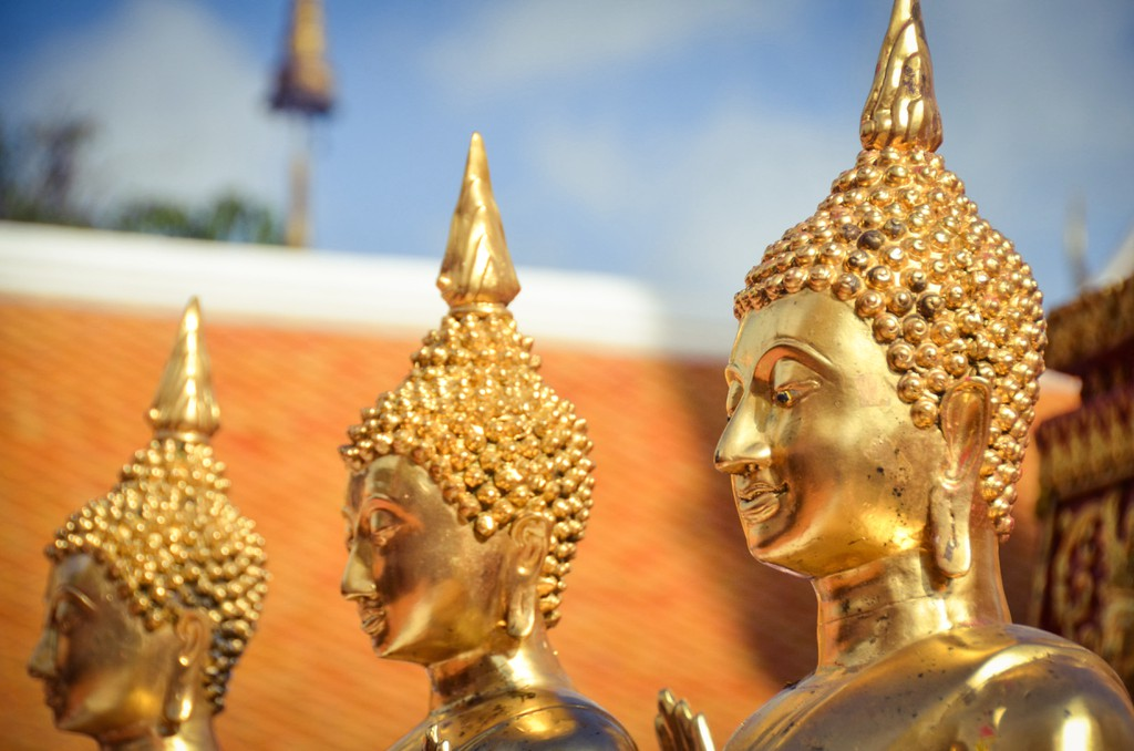 Buddha statues at Wat Phra That Doi Suthep