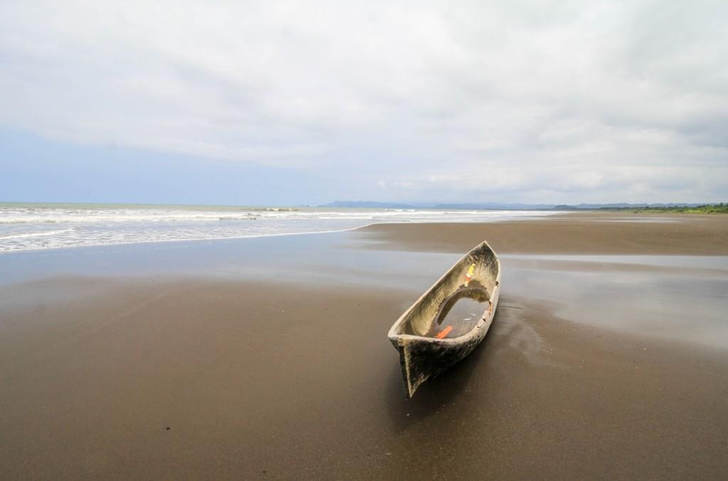 Praia Nuquí em Chocó, Colômbia