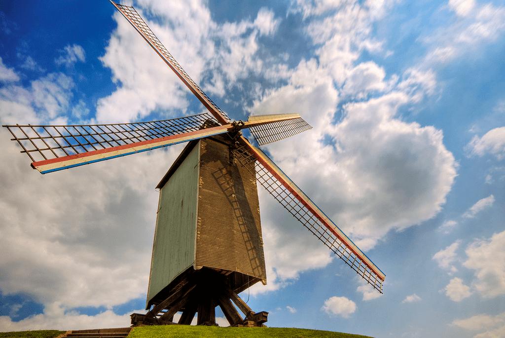 Bruges Mill | Wolfgang Staudt/Flickr