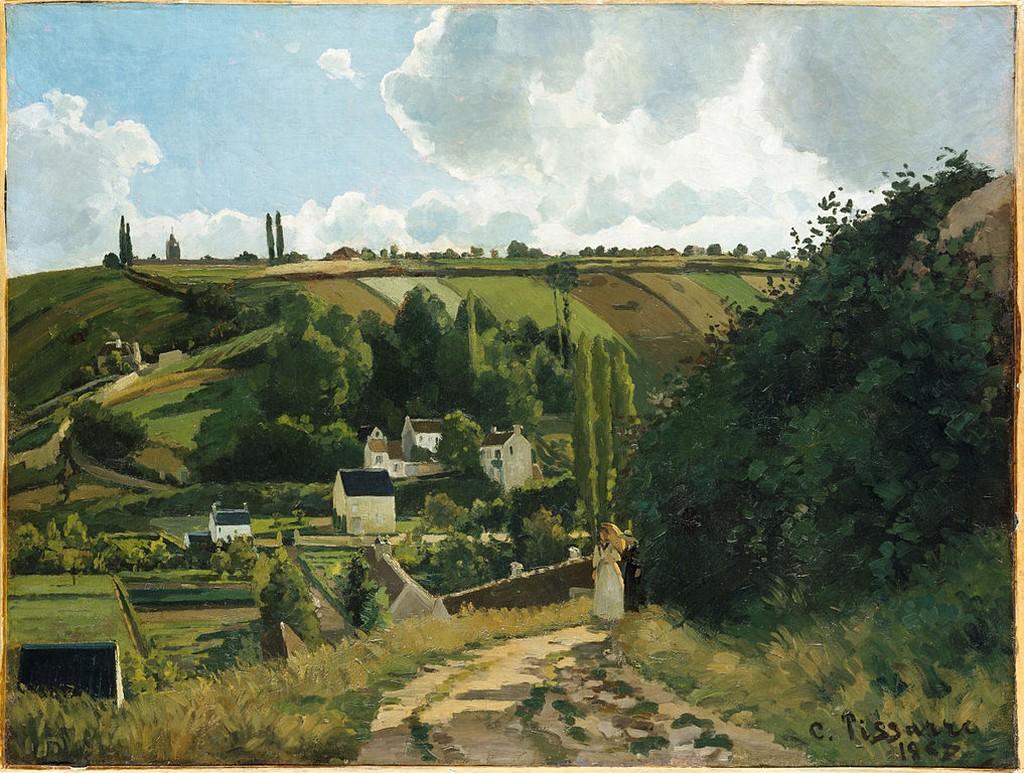 Camille Pissarro, Jalais Hill, Pontoise, 1867