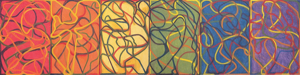 'Propitious Garden 3' Brice Marden | © Mark Barry/Flickr