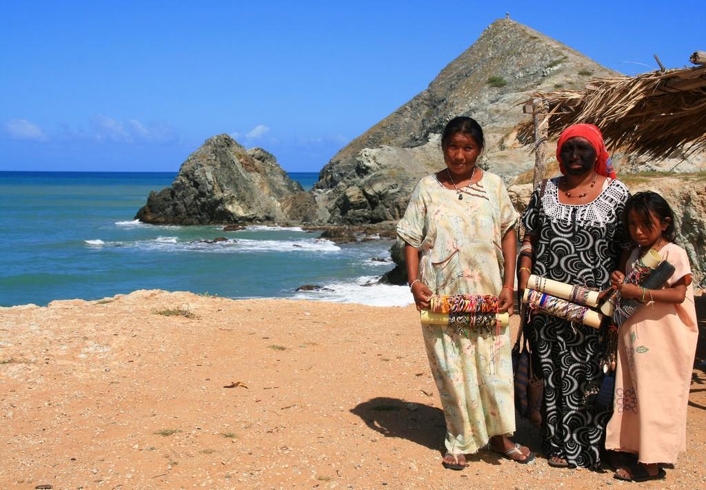 Wayuu people in La Guajira