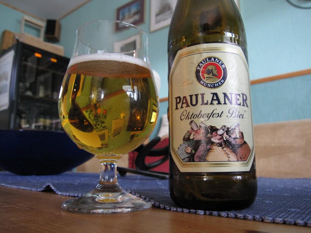 Paulaner Oktoberfest beer