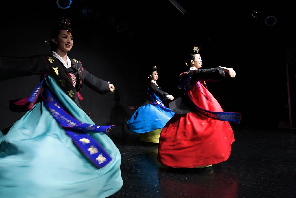 Korea Traditional Dance