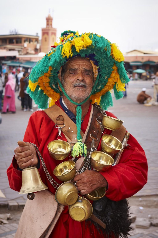 Marrakech water seller