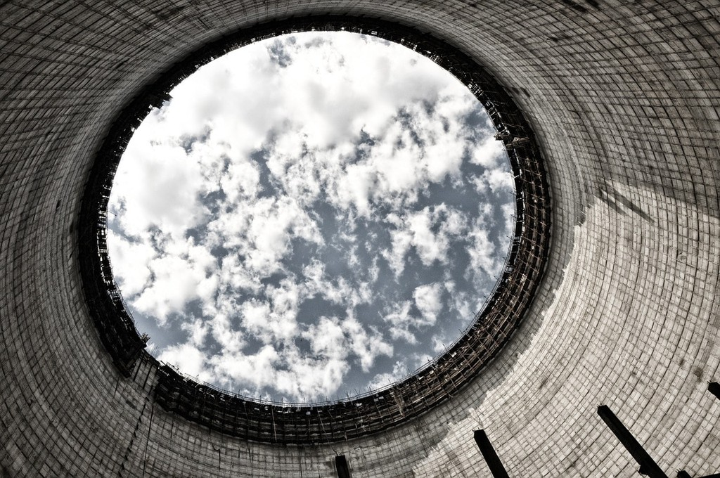Chernobyl cooling plant