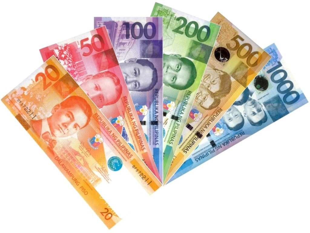 Banknotes from the New Generation Currency Series