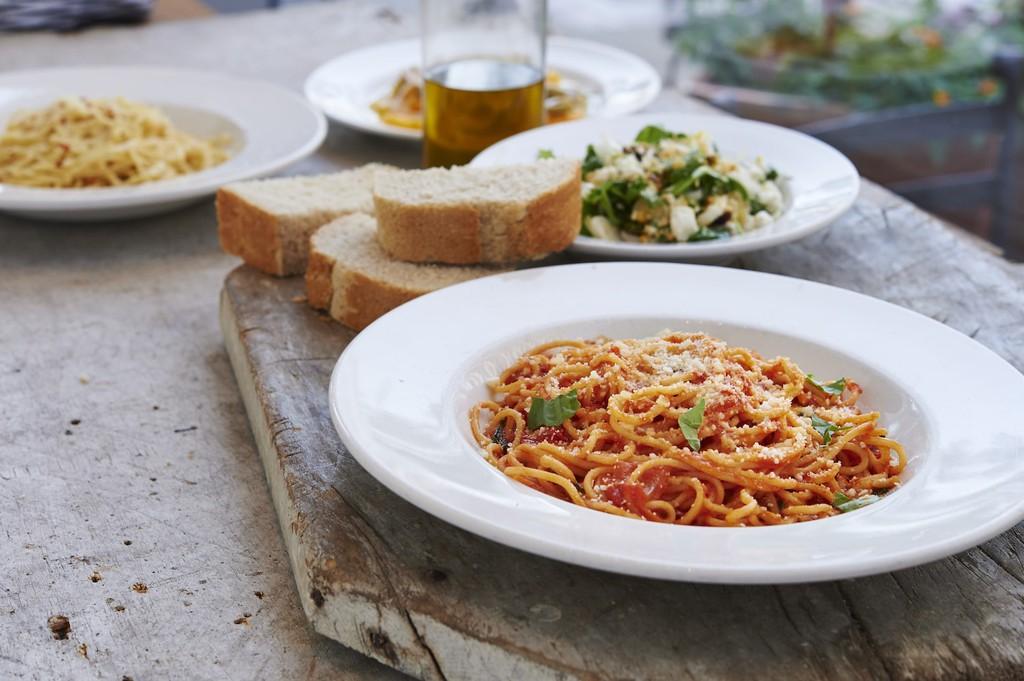 Pastaria Restaurant Dishes: