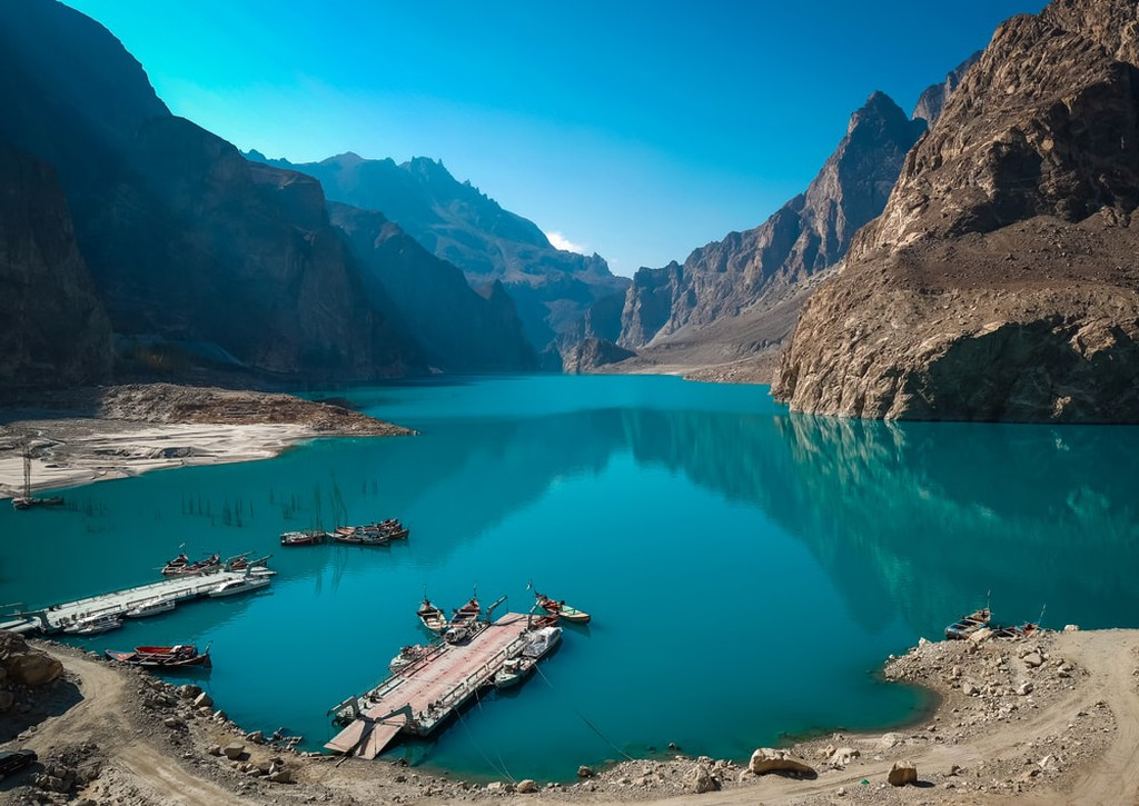 Attabad Lake, Gilgit-Baltistan, Pakistan