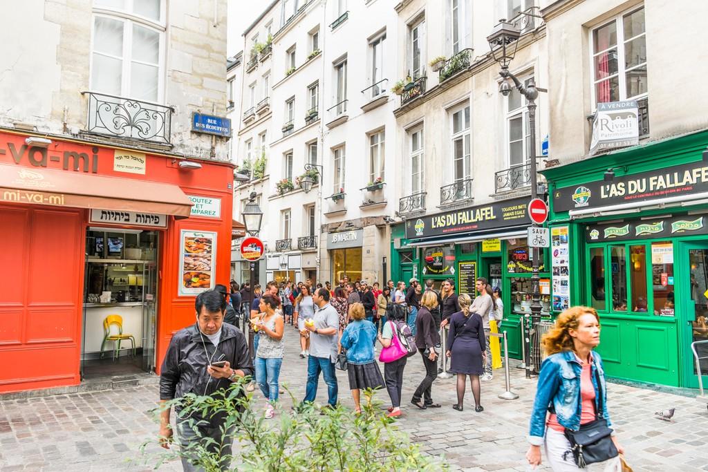 L´as du Fallafel in the Marais quarter