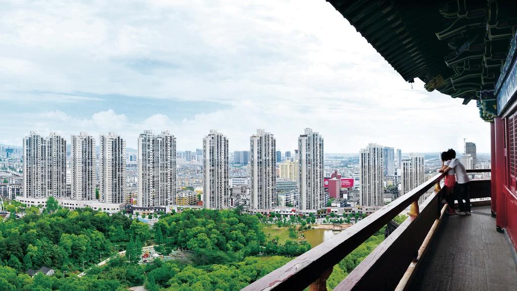 La ecociudad de Yichun fue discutida por primera vez en 1986.
