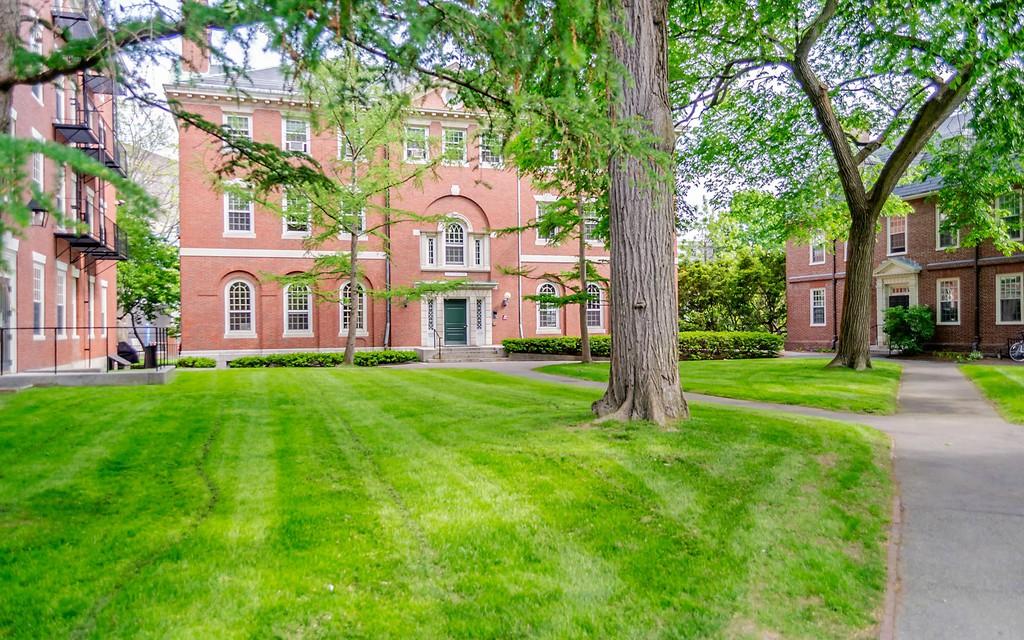 Harvard University Campus in Cambridge