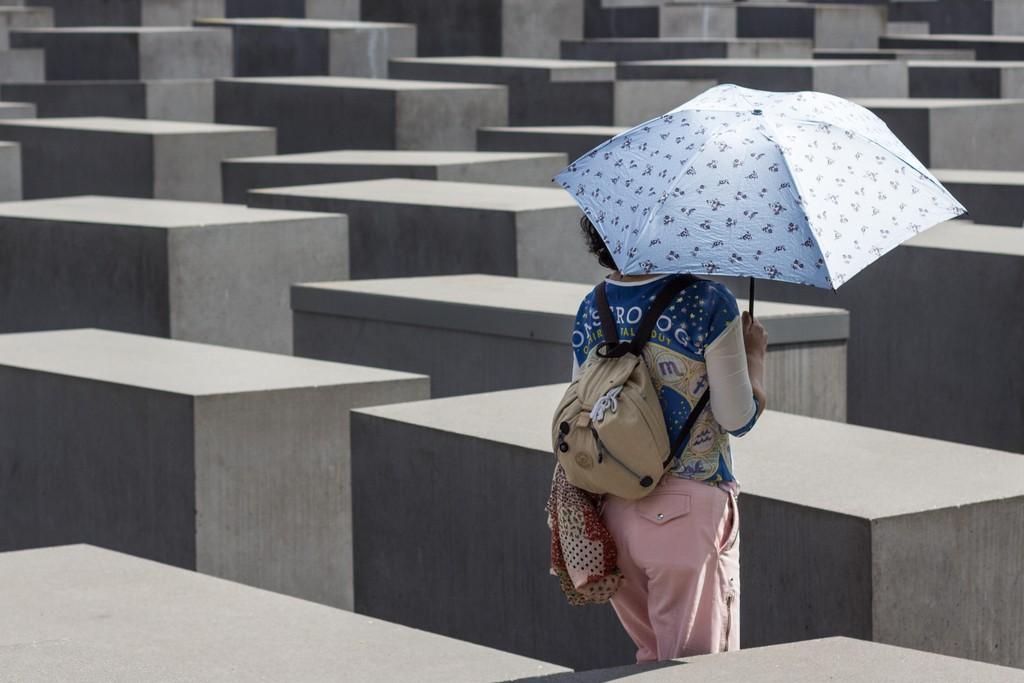 El memorial del Holocausto