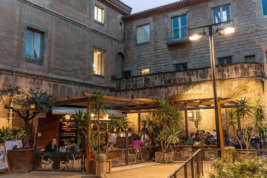 Restaurante El Jardi, Raval, Barcelona