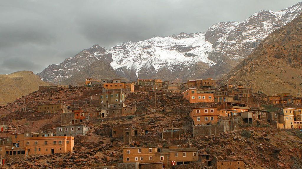 Berber Village in the Atlas