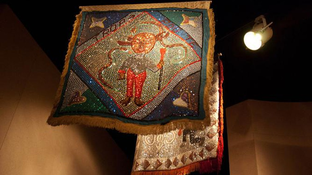 Vodou Flags: Between the Terrestrial and the Spiritual