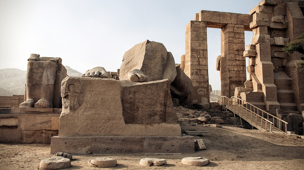 ancient Egyptian ruins | © Christopher Michel / Flickr