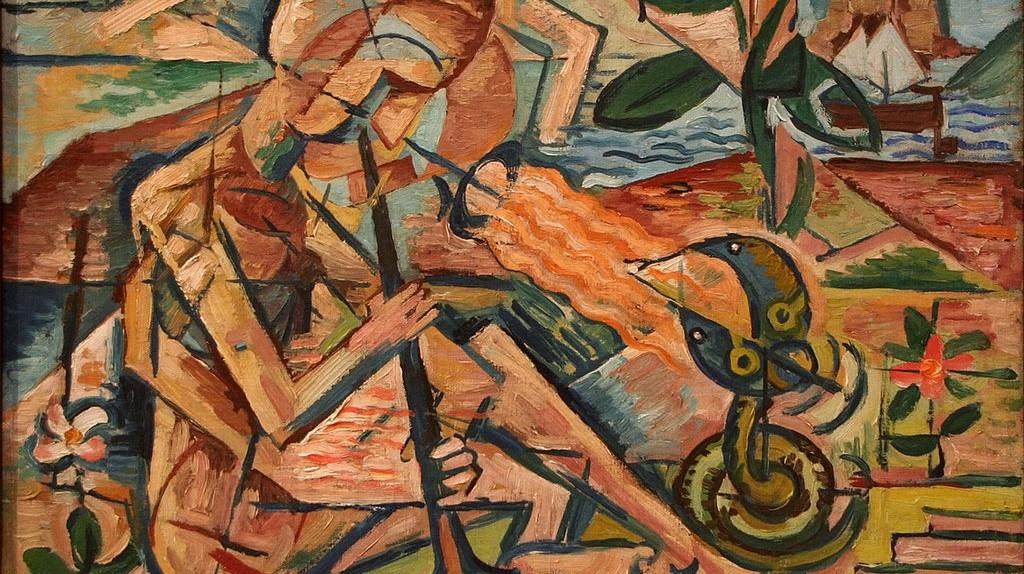 Taming Snakes, Bohumil Kubišta   © Ophelia2/WikiCommons