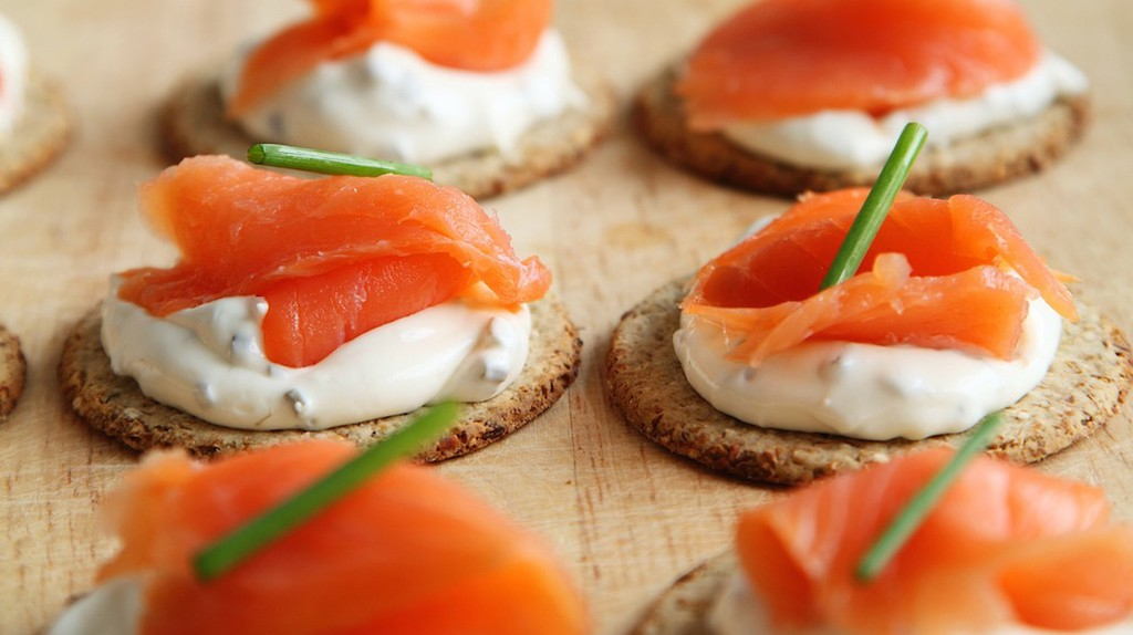 Salmon & Cream Cheese/©Pixabay