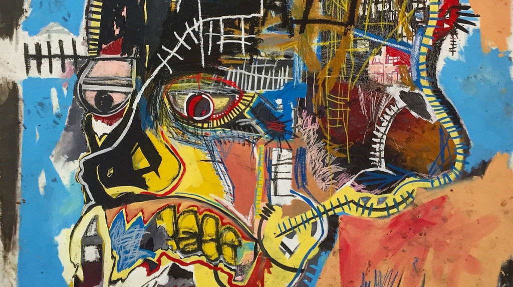 Untitled, 1981 by Jean-Michel Basquiat at The Broad Contemporary Art Museum | © photocritical/Shutterstock