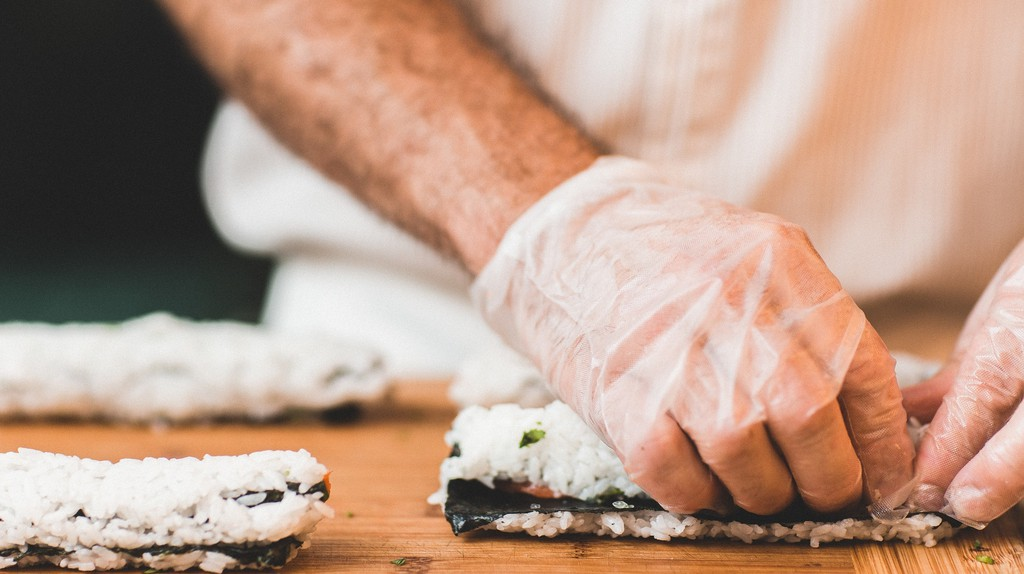 A sushi chef
