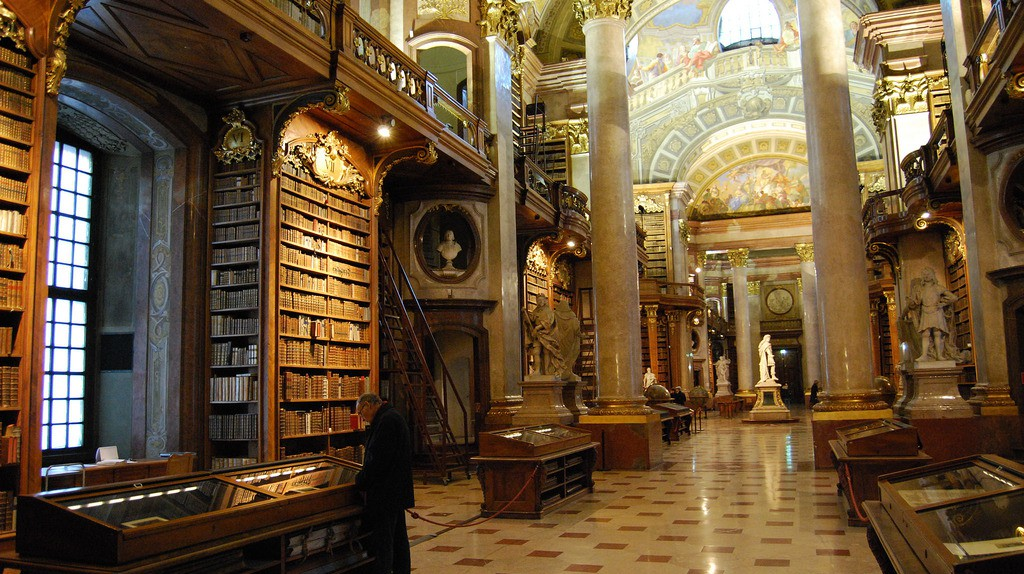 Austrian National Library | © Ferran Porta/Flickr