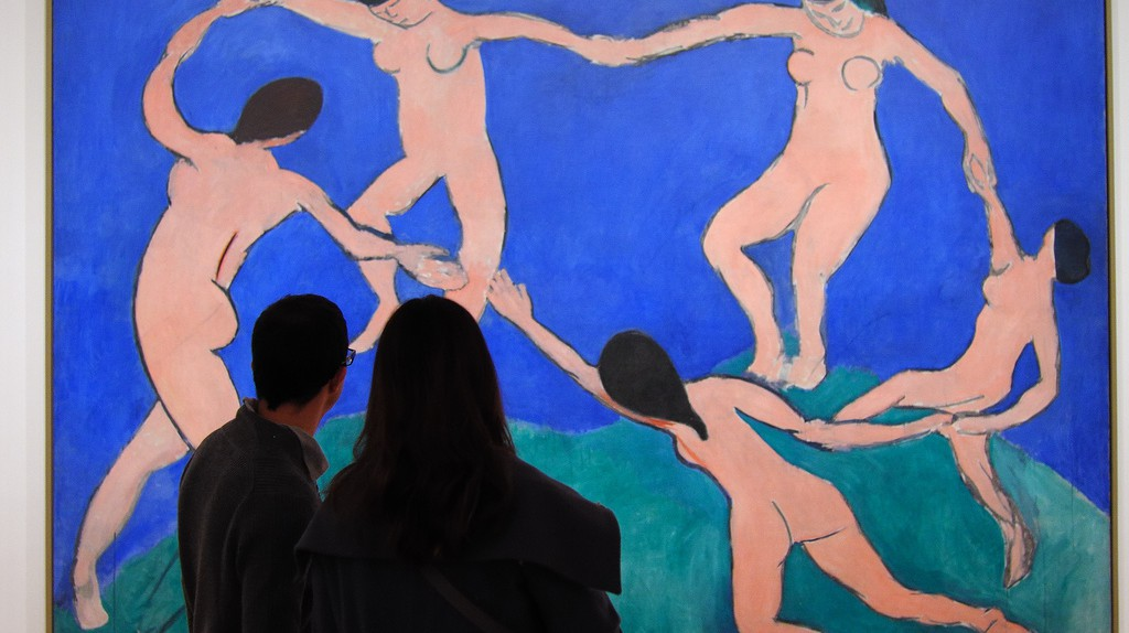 observing Matisse | ©  Ralph Daily / Flickr