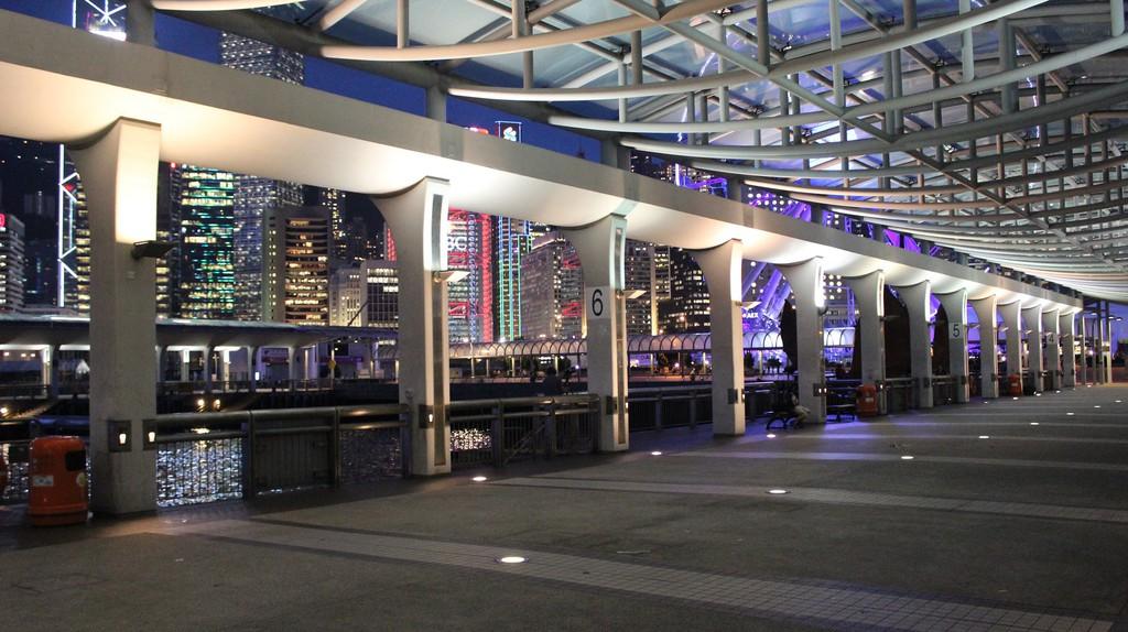 Hong Kong Central Pier |© Pixabay