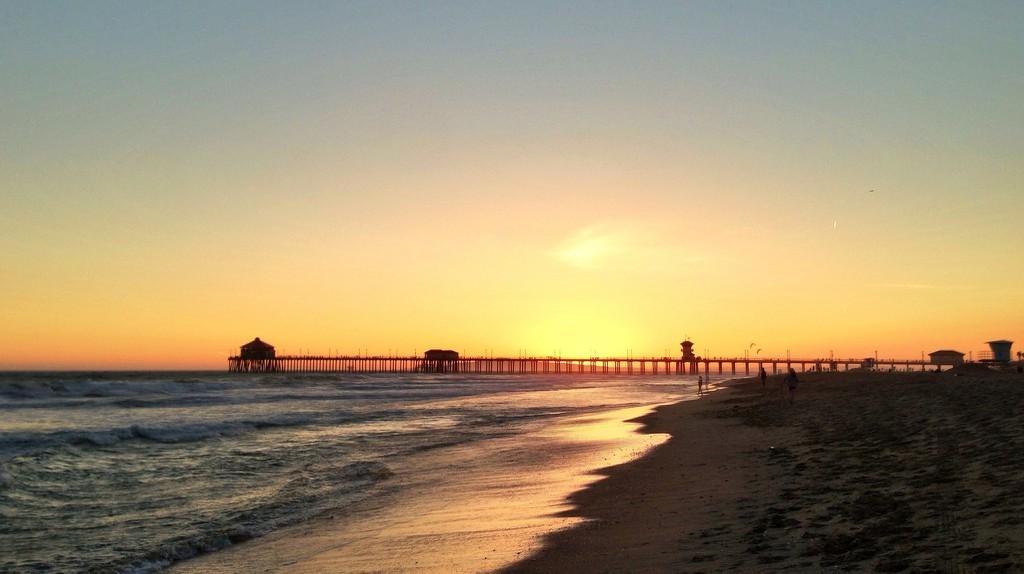 Huntington Beach Sunset | ©Jeff Turner/Flickr