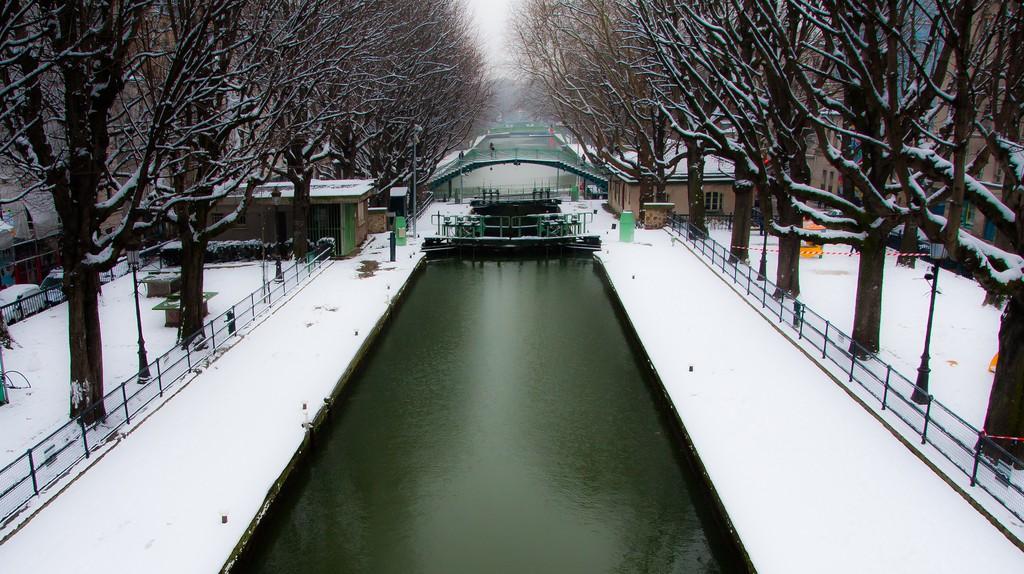 Canal St Martin   ©Jean-François Gornet/Flickr