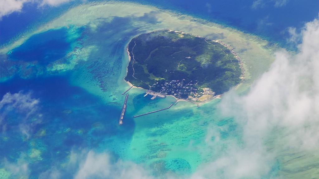Aerial view of Hatoma Island | © motive56/Shutterstock