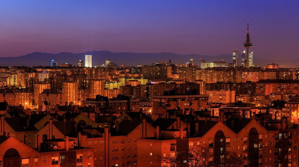 Madrid skyline | © Barcex