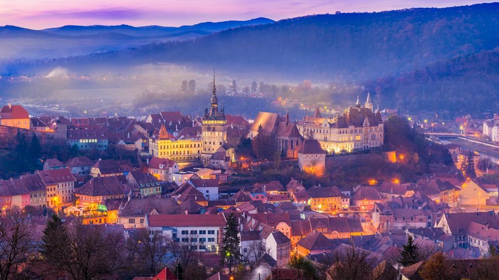 The medieval fortress Sighisoara city, Transylvania, Romania  ©Balate Dorin / Shutterstock