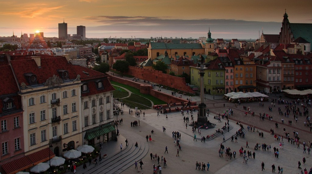 Warsaw sunset | © studioyayo / Pixabay