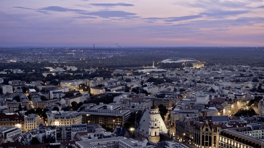 Leipzig skyline | © MatthiasX1/Flickr