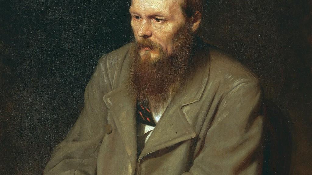 """""""Portrait of the Writer Fyodor Dostoyevsky"""" by Vasily Perov (1872)   via WikiCommons"""