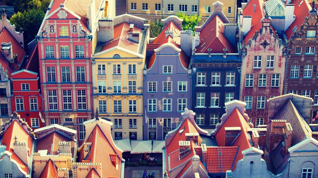 Rooftops, Gdansk | ©kishjar?/Flickr