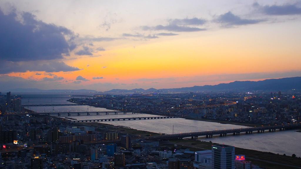 Floating Garden Observatory, Umeda - Osaka © Raelene Gutierrez