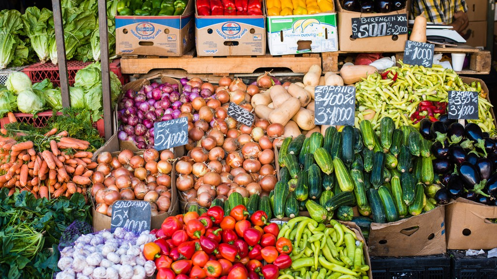La Vega market Santiago  © Pablo Rogat/Shutterstock