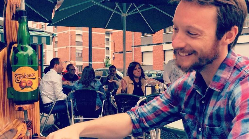 Ben enjoying the good life| Courtesy of Ben Holbrook