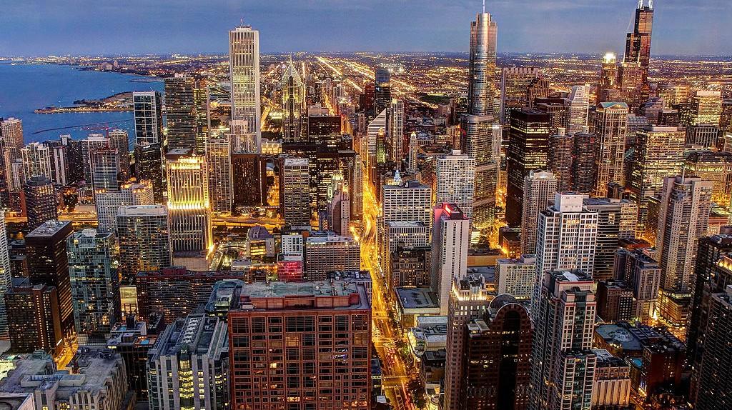 Chicago Skyline © Allen McGregor/WikiCommons