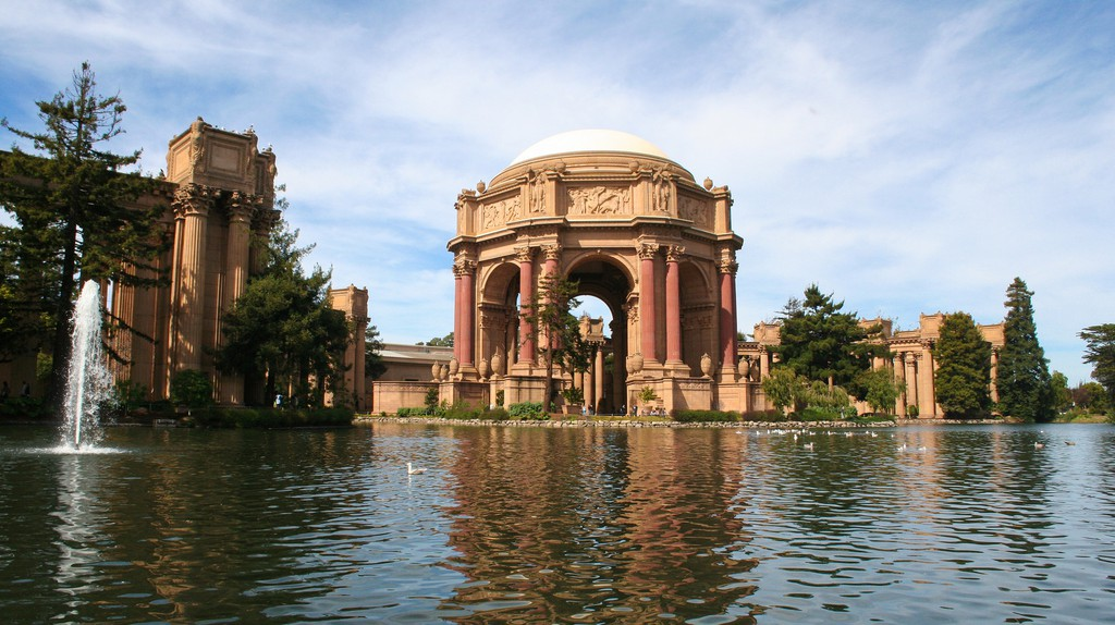 The Turbulent History Of The Palace Of Fine Arts, California