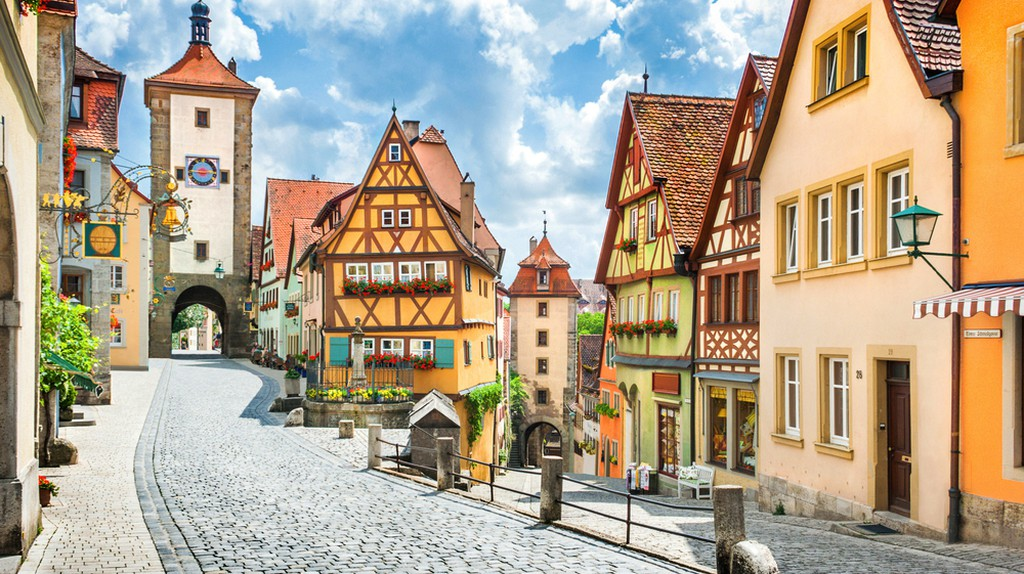 Rothenburg ob der Tauber, Franconia, Bavaria | © Canadastock / Shutterstock