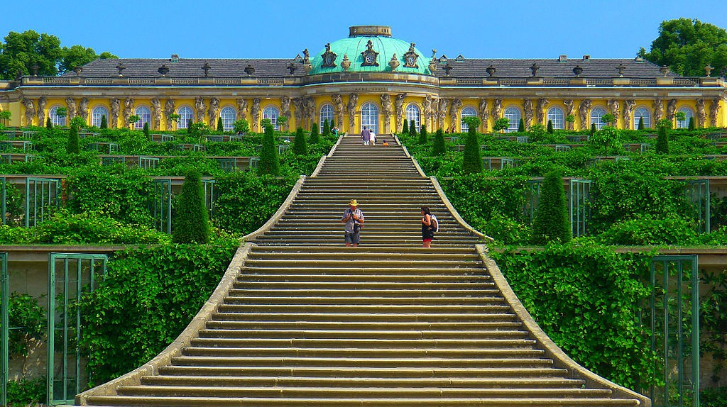 Sanssouci Palace | © Mbzt / WikiCommons