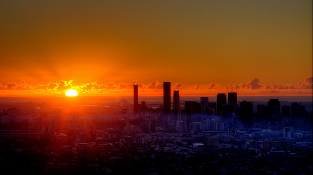 Brisbane sunrise I © Sam Petherbridge/Flickr
