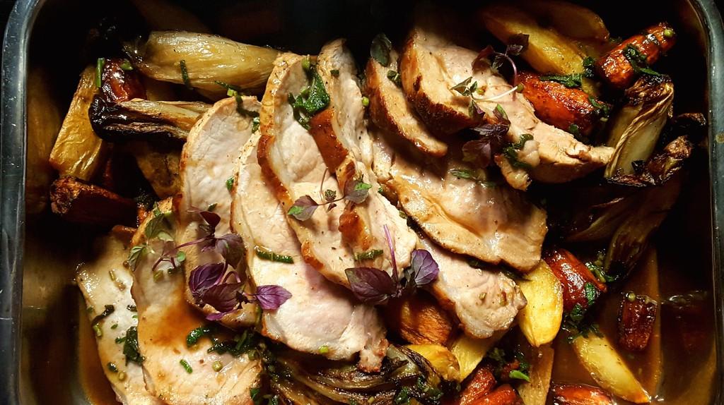 Oven-roasted goodness   Courtesy of Charlotte Café/Cuisine