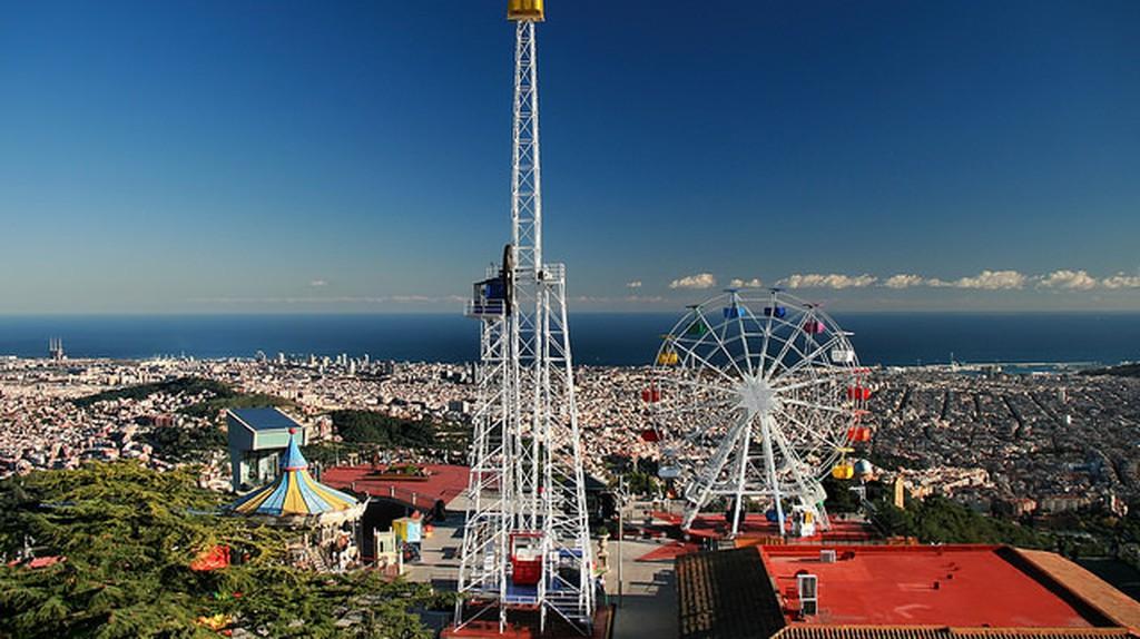 Tibidabo Amusement Park | © Jorge Franganillo